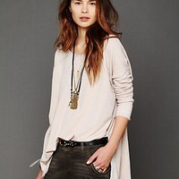 Free People Supersoft Washed Pullover