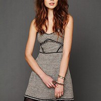 Free People Shine Tweed Dress