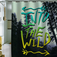 DENY Designs Home Accessories | Leah Flores Into The Wild 2 Shower Curtain