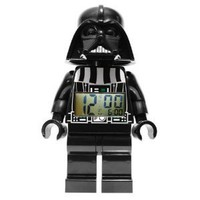 Amazon.com: LEGO Kids' 9002113 Star Wars Darth Vader Mini-Figure Alarm Clock: Watches