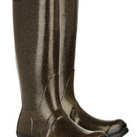 Hunter | Original Tall Glitter Wellington boots | NET-A-PORTER.COM