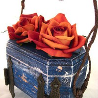Hand Sculpted Treasure Box by Award  Winning Fae by faefactory
