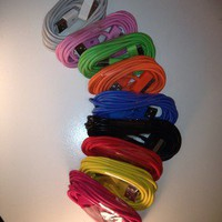 Color 10FT USB Sync Data Charging Charger Cable Cord For iphone4 4s And Ipads