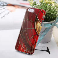 Spider-Man Super Hero Painted iPhone 5 Case
