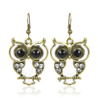 Cute Big Eyes Owl Earring on Luulla