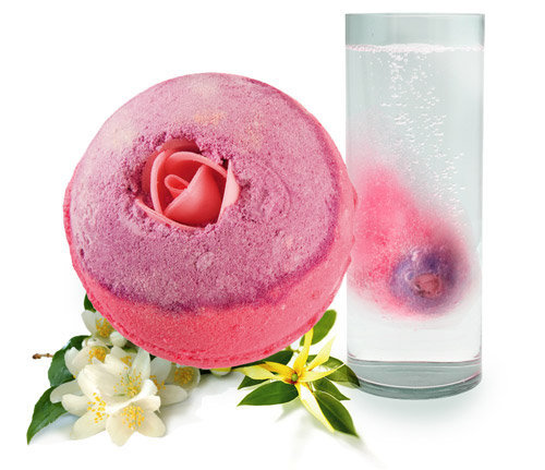 Lush Cosmetics' Sex Bomb Bath Bomb