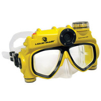 The Digital Camera Swim Mask - Hammacher Schlemmer