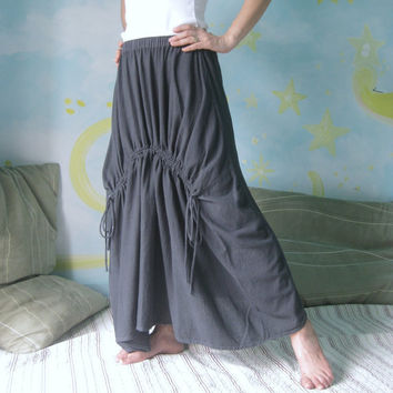 Pull MeMedium Weight Light Cotton Skirt Hand by beyondclothing