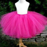 Fuchsia Teen or Adult Tutu by totaltutu on Etsy