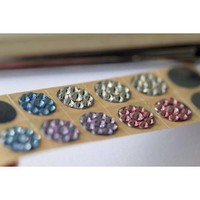 1 piece Pink Rhinestone Home Button Sticke for iPhone/ iPod Touch/ iPad