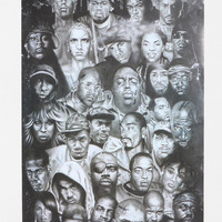 Hip Hop Legends Poster