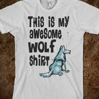AWESOME WOLF SHIRT