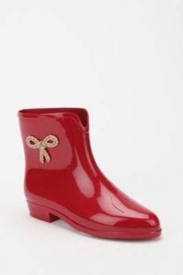 UrbanOutfitters.com > Mel by Melissa Shoes Side Bow Rain Boot