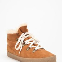 UrbanOutfitters.com &gt; F-Troupe Suede Sherpa Hiker Boot