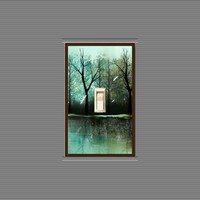 Tree Art Decorative Light Switch Plate