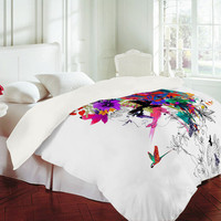 DENY Designs Home Accessories | Holly Sharpe Tropical Girl 1 Duvet Cover