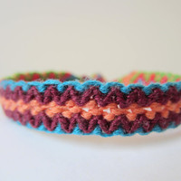 Multicolored Braided Friendship Bracelet