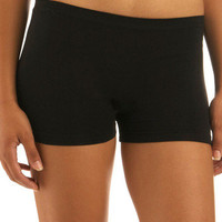 Here to Stay-ple Shorts in Black | Mod Retro Vintage Underwear | ModCloth.com