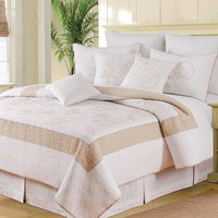 Atlantic Shells Deluxe Bedding Set | Atlantic Linens