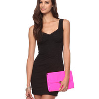 Matelasse Bodycon Dress