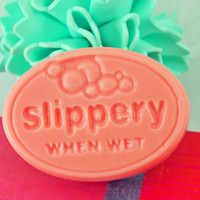 Mango Slippery When Wet Goats Milk Soap