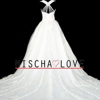 Mischa Love Bridal Gown 0480 by MischaLoveBridal on Sense of Fashion