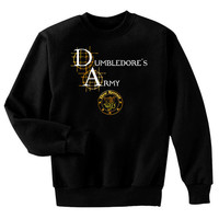 Dumbledore's Army New Recruit Harry Potter Fan Art Sweatshirt Adult Small - 2XL
