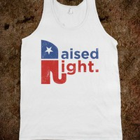 Raised Right (Retro Tank)