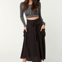 Sweetbriar Black Midi Skirt