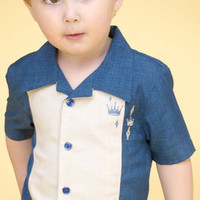 Retro shirts for boys