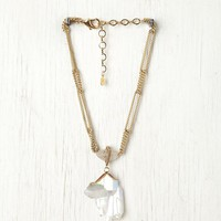 Free People White Knights Pendant