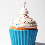 Ceramic Cupcake Soap Dispenser