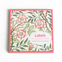 William Morris rose garden labels - $4.99 : ShopRuche.com, Vintage Inspired Clothing, Affordable Clothes, Eco friendly Fashion
