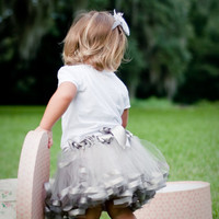 Satin Edged Princess Tutu 6 months 24 months 2T by petitepeanut