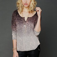 Free People Sandbox Washed Tee