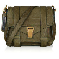 Proenza Schouler|PS1 Small leather satchel|NET-A-PORTER.COM