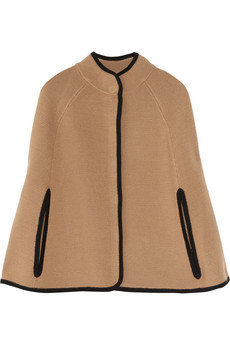 J.Crew|Knitted wool cape|NET-A-PORTER.COM