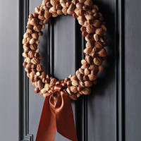 Nut Wreath - Martha Stewart Holiday  Seasonal Crafts