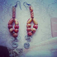 BOHEMIAN SWIRLS EARRINGS SET