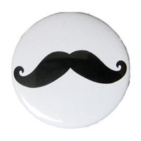 Mustache Pocket Mirror
