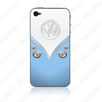 iPhone 4 VDov Blue by kellokult on Etsy