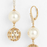 Majorica 12mm Pearl Drop Earrings | Nordstrom