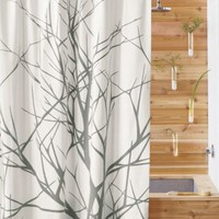 CB2 - arbor shower curtain
