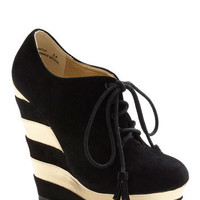 The Fame Game Wedge | Mod Retro Vintage Heels | ModCloth.com