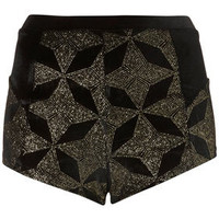 Star Velvet Knicker - New In This Week  - New In