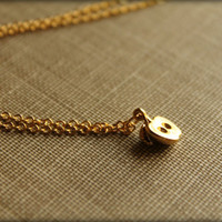Golden Apple Necklace