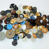 Destash of Vintage Buttons