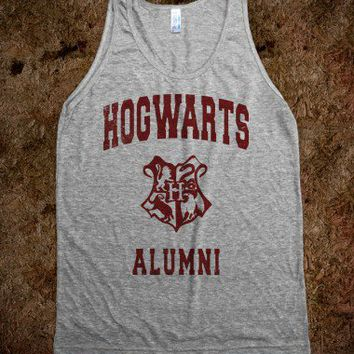 Hotwarts Alumni (Vintage Tank) - Fun, Funny, & Popular