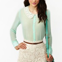 Frost Chiffon Blouse