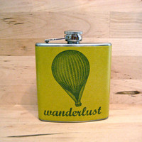 Full of Hot Air Wanderlust Vintage Hot Air Balloon by whimsyandink